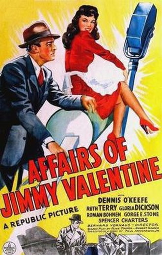 The Affairs of Jimmy Valentine - Image: The Affairs of Jimmy Valentine Film Poster