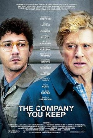 The Company You Keep (film) - U.S. theatrical release poster