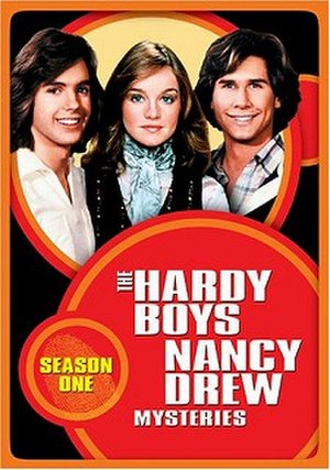 The Hardy Boys/Nancy Drew Mysteries - Image: The Hardy Boys Nancy Drew Mysteries dvd cover