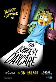 <i>The Longest Daycare</i> 2012 animated Simpsons short film directed by David Silverman