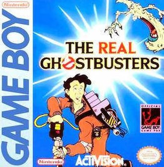 The Real Ghostbusters (video game) - North American cover art