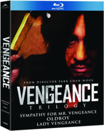 The Vengeance Trilogy Blu-ray box set.