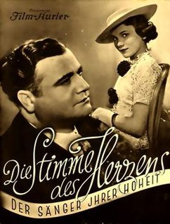 <i>The Voice of the Heart</i> (1937 film) 1937 film directed by Karlheinz Martin