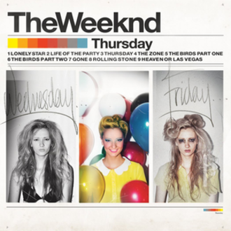 Thursday (album) - Image: The Weeknd Thursday