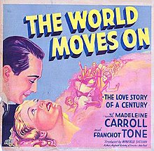Image result for The World Moves On 1934 poster