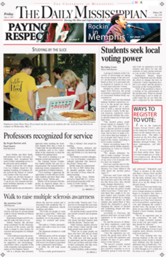The Daily Mississippian - The Daily Mississippian