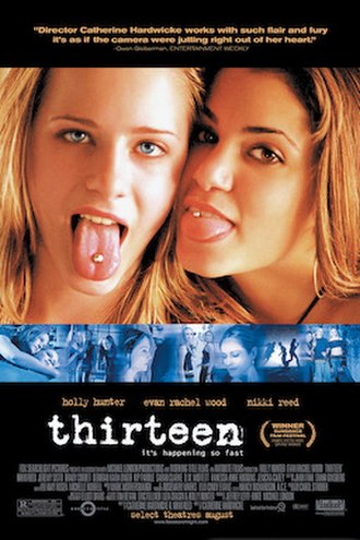 Thirteen (2003 film) - Theatrical release poster