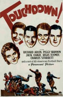 Touchdown! (1931) Movie Poster.jpg