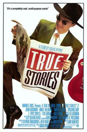 True Stories (film) - Theatrical release poster