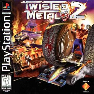 Twisted Metal 2 - North American cover art