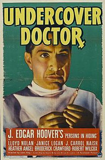 <i>Undercover Doctor</i> 1939 film by Louis King