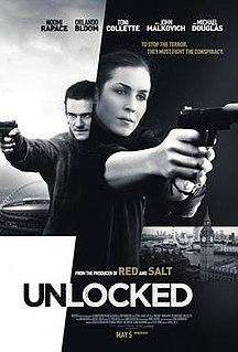<i>Unlocked</i> (2017 film) 2017 film by Michael Apted