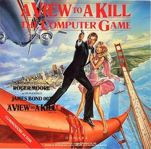 A View to a Kill (video game) - Cover for The Computer Game