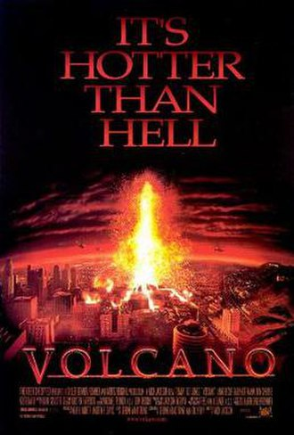 Volcano (1997 film) - Theatrical release poster