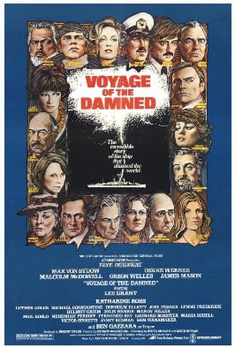 Voyage of the Damned - Film poster by Richard Amsel