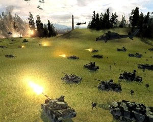 World in Conflict - A large skirmish battle