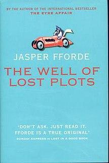 <i>The Well of Lost Plots</i> novel by Jasper Fforde