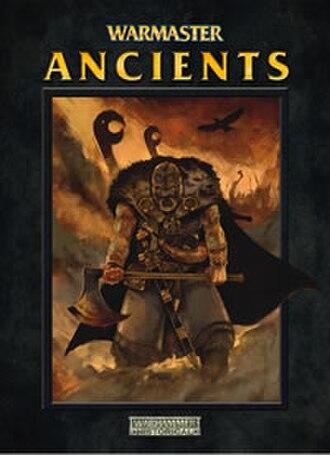 Warmaster - The Warmaster Ancients rulebook.
