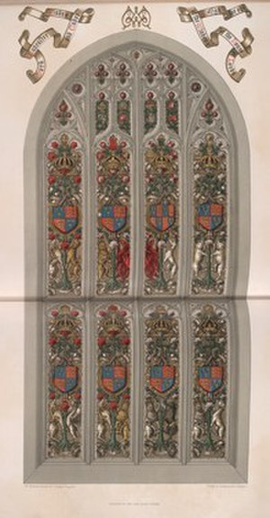 William Warrington -  An armorial window for the House of Lords.