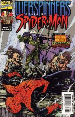Webspinners: Tales of Spider-Man - Image: Webspinners Spider Man Cover