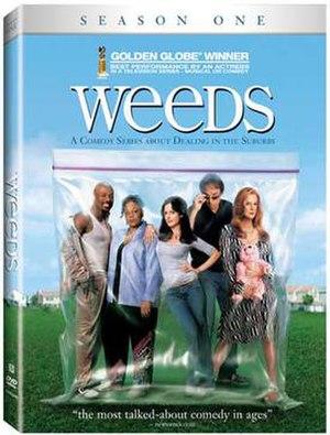 Weeds (season 1) - Image: Weeds S1 DVD