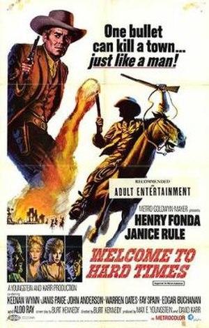 Welcome to Hard Times (film) - Image: Welcomehardtimes