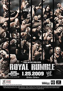 Royal Rumble (2009) 2009 World Wrestling Entertainment pay-per-view event