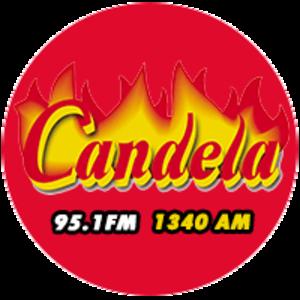 XHAPM-FM - Image: XHAPM Candela 95.1 1340 logo