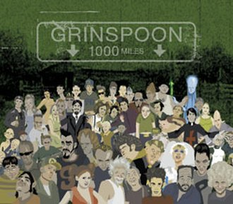 1000 Miles (Grinspoon song) - Image: 1000 Miles Cover