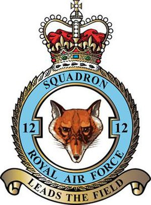 No. 12 Squadron RAF - 12 Squadron badge