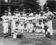 1952 Little League World Series Champs, Norwalk, Connecticut.jpg