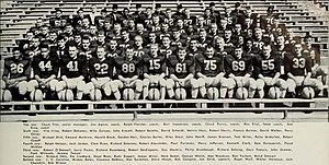 1954 Illinois Fighting Illini football team - Image: 1954 Illinois Fighting Illini football team
