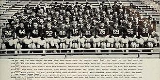 1954 Illinois Fighting Illini football team - Image: 1954 Illinois Fighting Illini football team