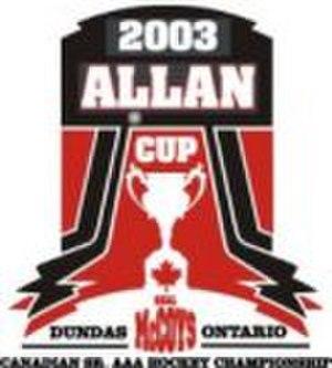 2003 Allan Cup - Image: 2003 Allan Cup