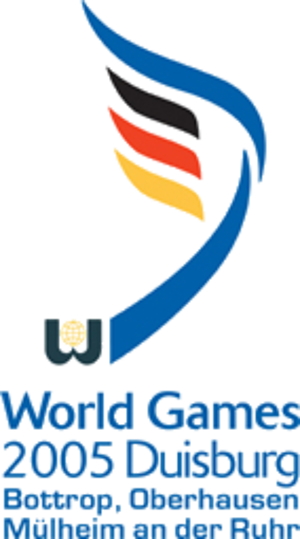 2005 World Games - Image: 2005 World Games Logo