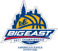 2011 Big East Tournament logo