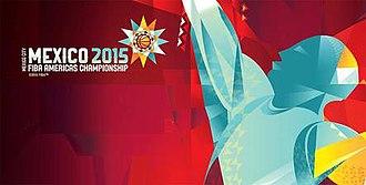 2015 FIBA Americas Championship - Image: 2015 FIBA Americas Championship logo