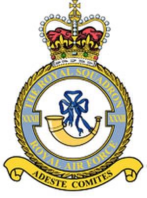 No. 32 Squadron RAF - Image: 32 (The Royal) Squadron RAF