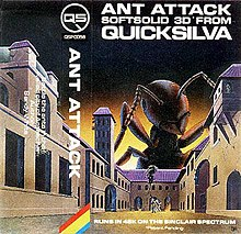 Ant Attack cassette cover art