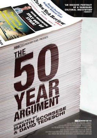 The 50 Year Argument - US theatrical-release poster