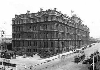 Victorian Railways - Head office at 67 Spencer Street