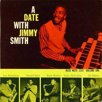 A Date with Jimmy Smith Volume One - Image: A Date with Jimmy Smith