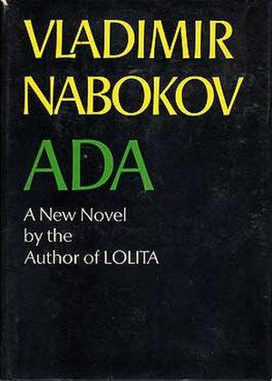 Ada or Ardor: A Family Chronicle - First Edition Cover