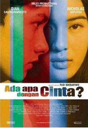 Ada Apa dengan Cinta? - Theatrical release poster