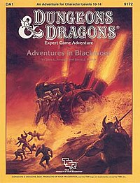 Cover of Adventures in Blackmoor