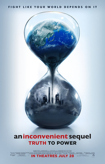 <i>An Inconvenient Sequel: Truth to Power</i> 2017 American documentary film directed by Bonni Cohen and Jon Shenk about Al Gore