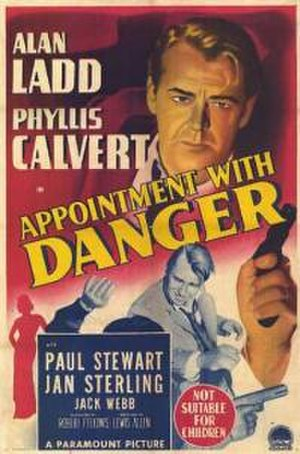 Appointment with Danger - Theatrical release poster
