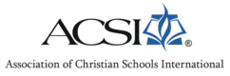 Association Of Christian Schools International - Association of Christian Schools International - Wikipedia, the free ... - Association of Christian Schools International (logo).png. Abbreviation, ACSI.   Motto, To strengthen Christian schools and equip Christian educators worldwide   ...