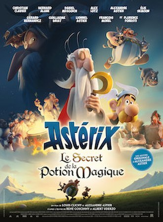 Asterix: The Secret of the Magic Potion - Image: Asterix The Secret of the Magic Potion