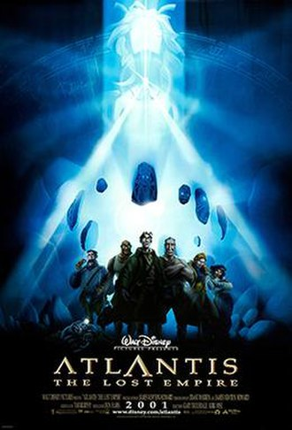 Atlantis: The Lost Empire - Theatrical release poster